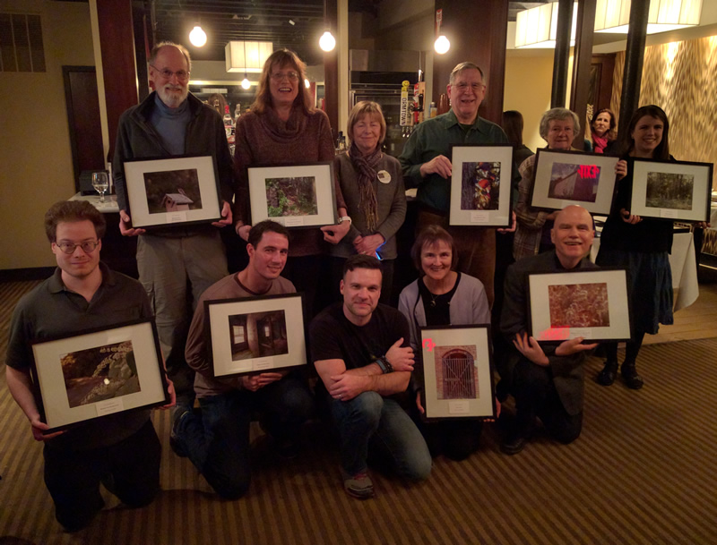 New Brook Farm presented participants with a framed copy of their winning photographs.