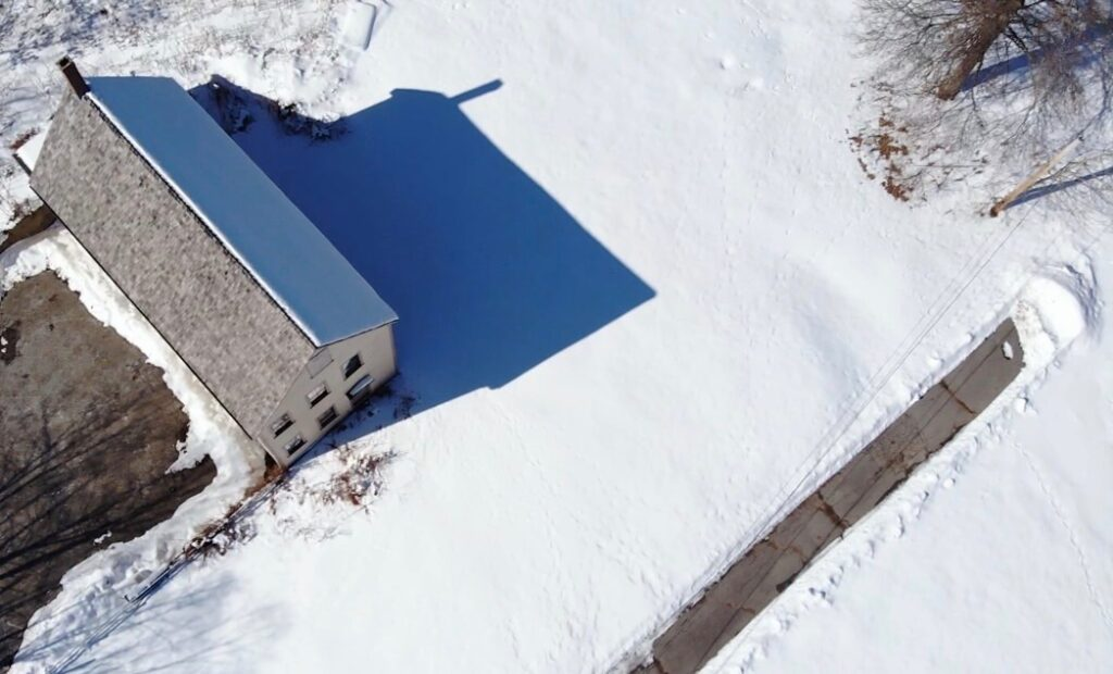 "David Austin & Justin Guinto's drone ""Winter Shadow"""