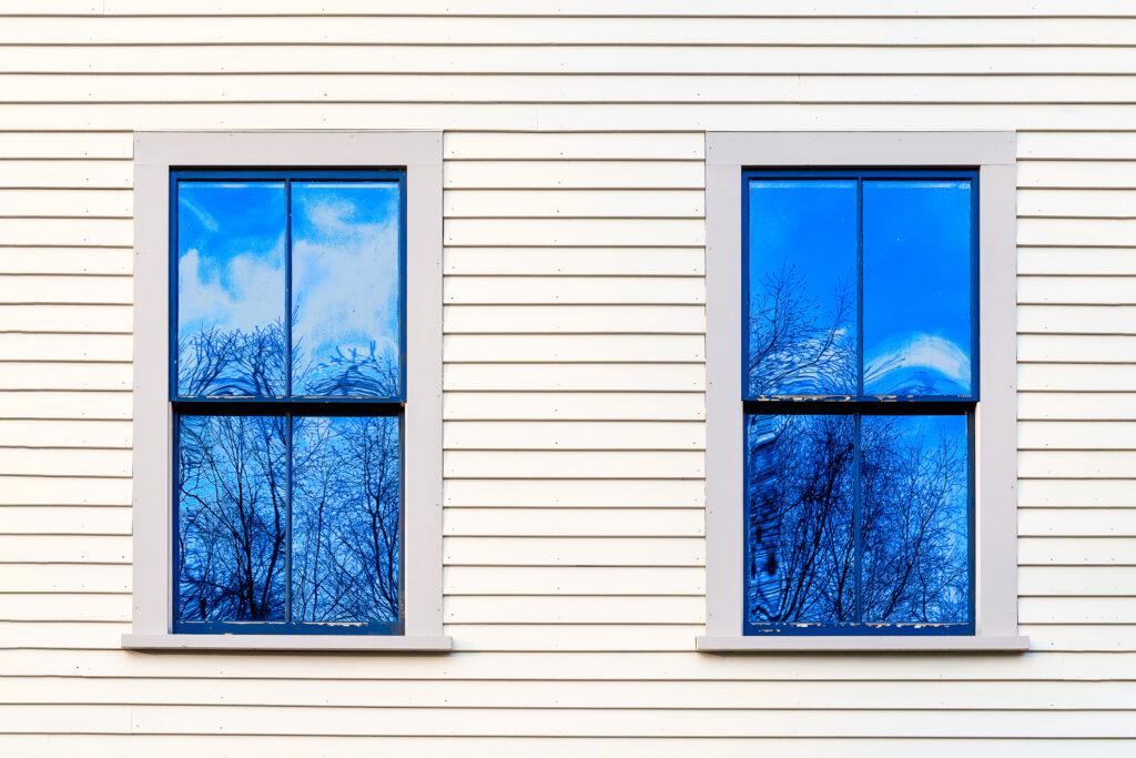 "Bruce Wilson ""Reflected Skies (Print Shop)"""